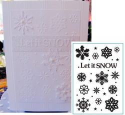 CRAFTS TOO Emboss Folder A5 - Папка за релеф  / CTFD3072