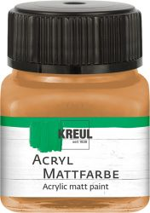 ACRYLIC MATT FARBE  20ML - Фин акрил и за маникюр OCHRE