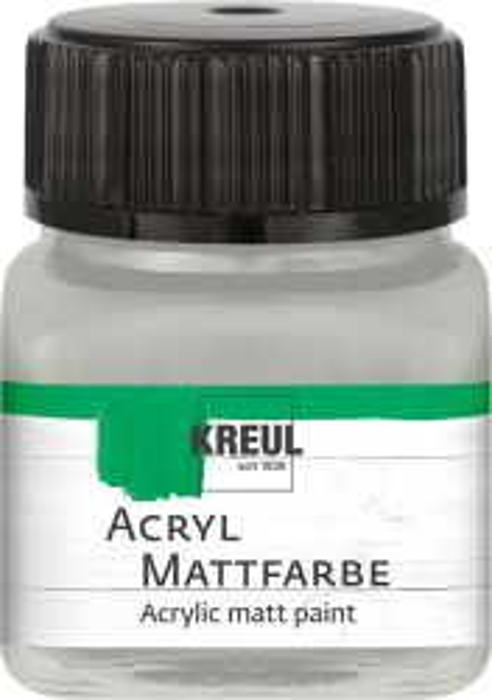 ACRYLIC MATT FARBE  20ML - Фин акрил и за маникюр SILVER