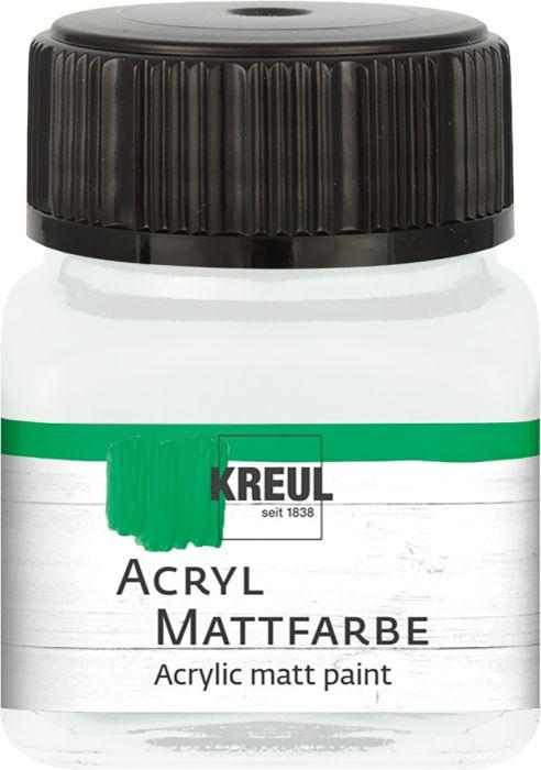ACRYLIC MATT FARBE  20ML - Фин акрил и за маникюр - Пастелно бяло