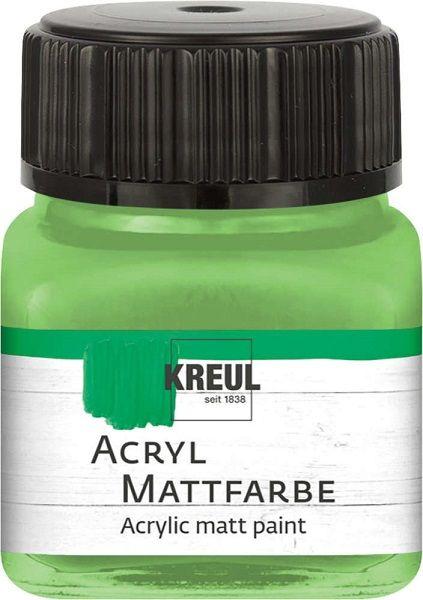 ACRYLIC MATT FARBE  20ML - Фин акрил и за маникюр MAY GREEN