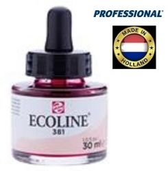ECOLINE PROFESSIONAL 30ml - Течен акварел 381 / ПАСТЕЛНО ЧЕРВЕНО