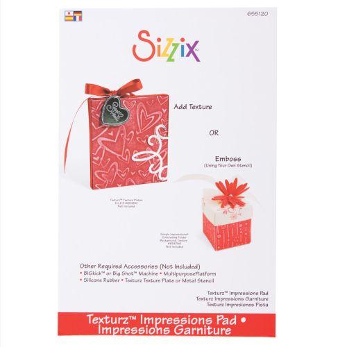 Impression Pad за Sizzix, Big Shot - Подложка за ембос с тънките метални шаблони