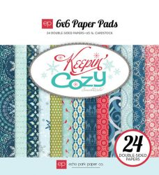 "ECHO PARK USA  # KEEPING COZY 6"" X 6"" Pad - Дизайн блок 15.2 x 15.2 / 24 л."