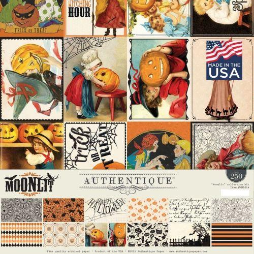 AUTHENTIQUE USA # MOONLIT KIT  - Дизайнерски комплект 12 X 12 /  250 части