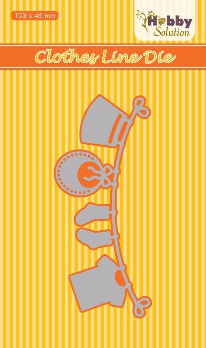 "BABY HSDJ029 Hobby Solution Die ""clothesline"""