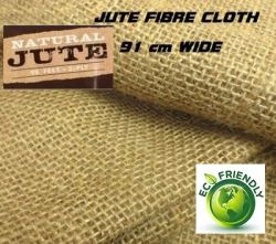 JUTE FIBRE CLOTH - 100% ЕКО ЮТА(ЗЕБЛО)  ширина 91см.