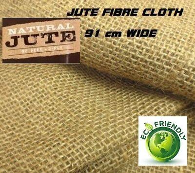JUTE FIBRE CLOTH - 100% ЕКО ЮТА(ЗЕБЛО)  ширина 91см.