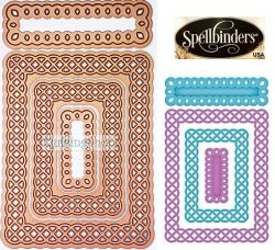 Spellbinders USA NEW - щанци за изрязване и ембос s5-136