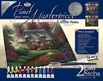 PAINTING MASTER SET ,USA - Мастър сет рисуване на платно 350 x 280mm * SET3