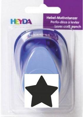 "HEYDA PUNCH 3"" - Дизайн пънч ЗВЕЗДА 65mm"