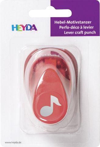 HEYDA Punch NOTE 17mm - Дизайн пънч НОТИЧКА S