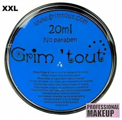 GRIM TOUT AQUA FACE PAINT - `AQUA` Боя за лице и тяло 20ml  BLUE