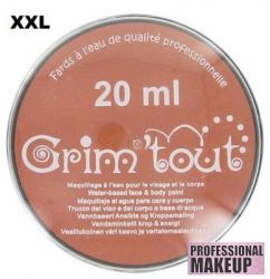 GRIM TOUT AQUA FACE PAINT - `AQUA` Боя за лице и тяло 20ml COPPER METALLIC
