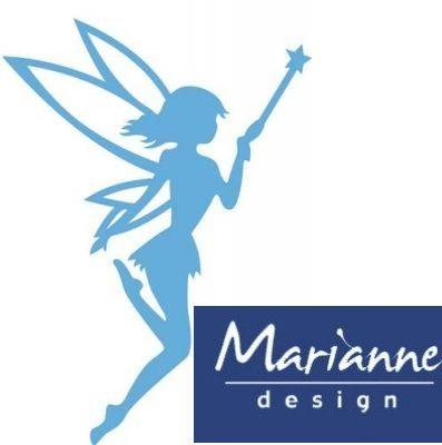 FAIRY Marianne Design - Шаблон за рязане и ембос