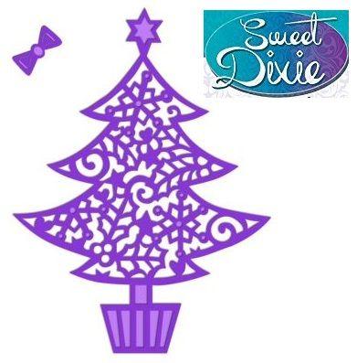 Sweet Dixie Metal Die - ЩАНЦИ FILIGREE