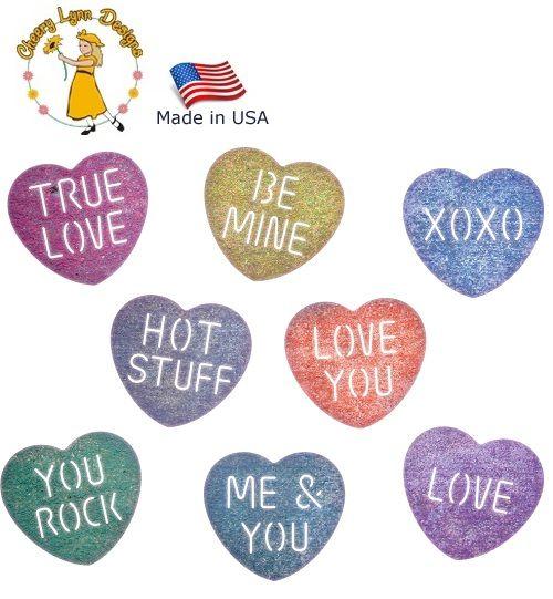 HEARTS Cheery Lynn USA - Шаблон за рязане и ембос / b675