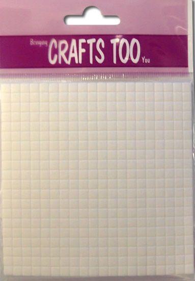 Foam Pads 10cm x 10cm (2mm thick) - 3Д двойно лепящи квадратчета