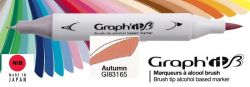 # GRAPH IT BRUSH MARKER - Двувърх дизайн маркери ЧЕТКА - AUTUMN