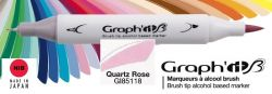 # GRAPH IT BRUSH MARKER - Двувърх дизайн маркери ЧЕТКА - QUARTZ ROSE