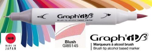 # GRAPH IT BRUSH MARKER - Двувърх дизайн маркери ЧЕТКА - BLUSH