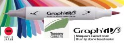 # GRAPH IT BRUSH MARKER - Двувърх дизайн маркери ЧЕТКА - TUSCANY