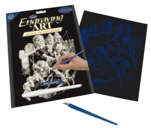 Engraving Art А4 - Картина за гравиране - светещо на тъмно фолио