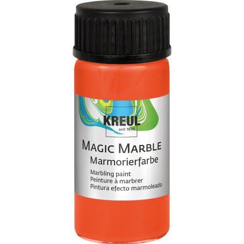 Magic Marble - Боя за мраморен ефект 20мл. - Оранж