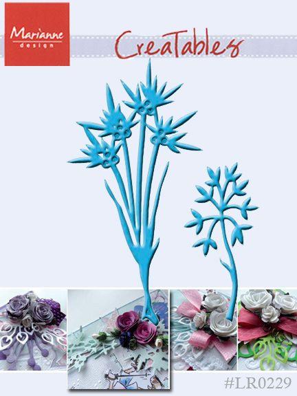 Marianne Design - Шаблон за рязане и ембос LR0229