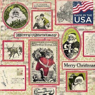 AUTHENTIQUE USA # JOYOUS  - Дизайнерски скрапбукинг картон 30,5 х 30,5 см.