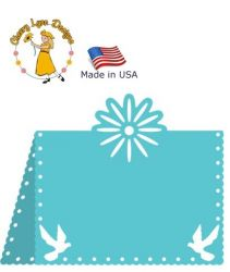CARD Cheery Lynn ,USA - Шаблон за рязане и ембос TABLE CARD  / b299