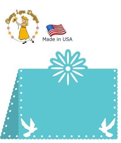 CARD Cheery Lynn ,USA - Шаблон за рязане и ембос TABLE CARD  / b299