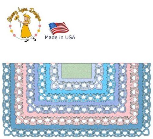 Cheery Lynn ,USA - К-кт шаблони за рязане и ембос / dl189