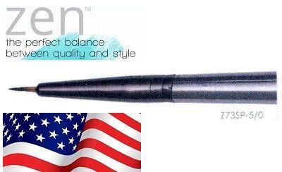 ZEN 73 Spotter , USA - Профи `спотър` четка за различни техники 10/0 / № 000