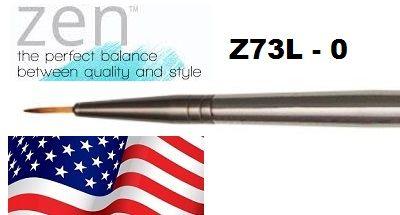 ZEN 73 Liner, USA - Профи `лайнер` четка за различни техники 0