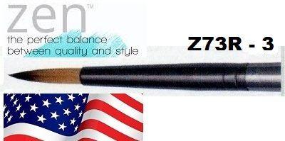 ZEN 73 Round, USA - Профи `кръгла`четка за различни техники №3