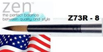 ZEN 73 Round, USA - Профи `кръгла` четка за различни техники, №8