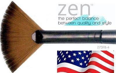 ZEN 73 Fan, USA - Профи `ветрило` четка за различни техники №4