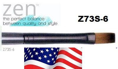 ZEN 73 Flat, USA - Профи `плоска` четка за различни техники №6