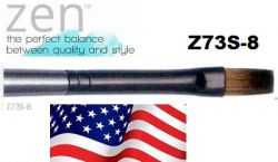 ZEN 73 Flat, USA - Профи `плоска` четка за различни техники №8