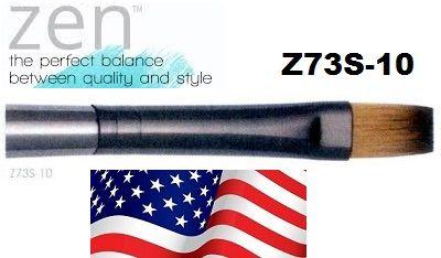 ZEN 73 Flat, USA - Профи `плоска` четка за различни техники №10