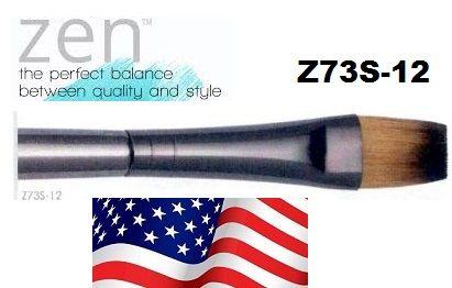 ZEN 73 Flat, USA - Профи `плоска` четка за различни техники №12