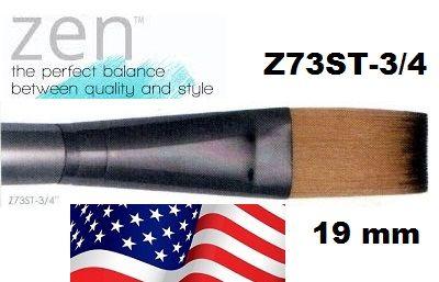 "ZEN 73 One Stroke, USA - ДЕКУПАЖНА ЧЕТКА №3/4"" / 19-20мм"