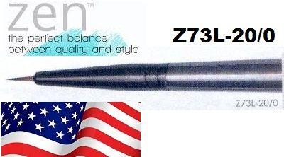 ZEN 73 Liner, USA - Профи `лайнер` четка за различни техники 20/0 / №00000
