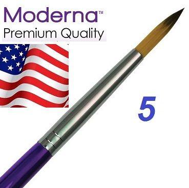 MODERNA BRUSH  Round, USA - Профи  четка за различни техники № 5