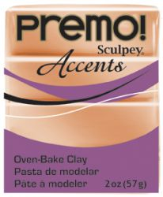 `PREMO Accents` USA - Професионална серия полимерна глина -  Copper, 2oz