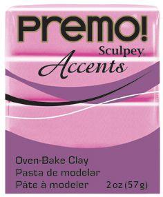 `PREMO Accents` USA - Професионална серия полимерна глина -  Magenta Pearl, 2oz