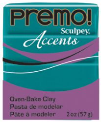 `PREMO Accents` USA - Професионална серия полимерна глина -  Peacock Pearl, 2oz