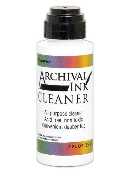 ARCHIVAL Stamp Cleaner - Почистваща течност за печати от АРХИВНИ МАСТИЛА- 56 мл.