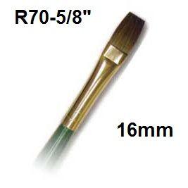 """ROYAL R70-5/8""""  - Мека акварелна четка 16mm"""